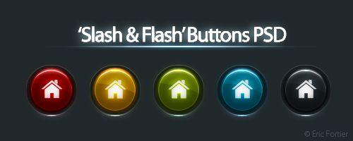 Buttons PSD by ~El3ment4l on deviantART
