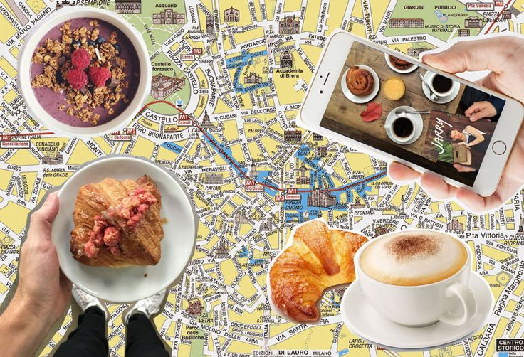 16 best to see in italy images on pinterest breakfast for Best breakfast milano