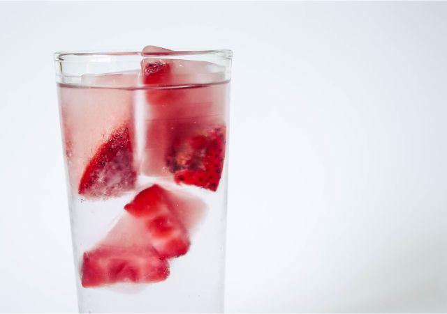 Refreshing Fruit Ice cubes