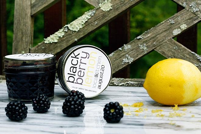 blackberry preserves - no pectin