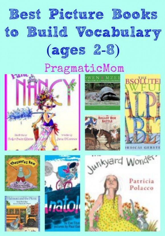 Best picture books to build vocabulary :: PragmaticMom