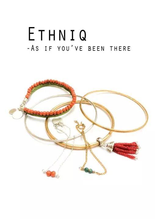 Ethniq collection - schoolproject in cooperation with Kranz og Ziegler. By Rikke Borch, Stine Vesten og Signe Boesen.