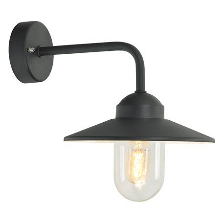 Norlys Vansbro Svart Ip55 Vägglampa