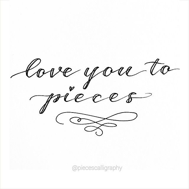 102 Best Calligraphy Images On Pinterest Handwriting