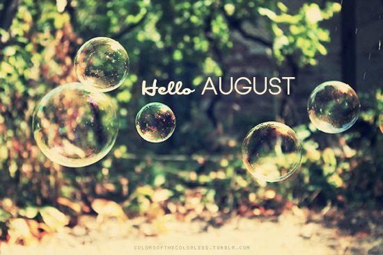 Resultado de imagem para hello august