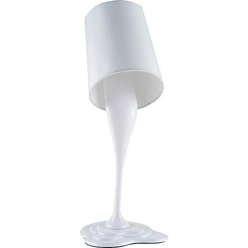 Luminária de Mesa Lata de Tinta Branca - - Americanas.com