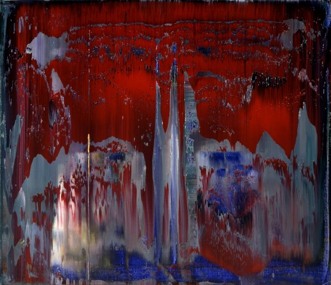 Gerhard Richter » Art » Paintings » Abstracts » Abstract Painting » 819-3