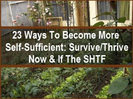 Self sufficient http homestead and survival com 23 ways to be self