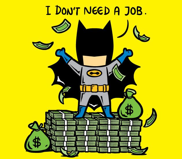 Les super héros et leur job à temps partiel