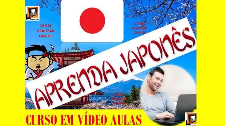 VÍDEO AULAS |  APRENDER E FALAR JAPONÊS |  NÍVEL BÁSICO | CURSO ONLINE
