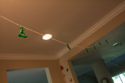toy story party army men decor