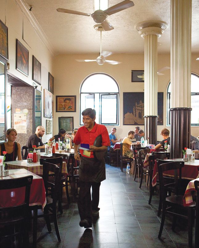 Leopold cafe was a favorite hangout during the days my dad was posted in Colaba