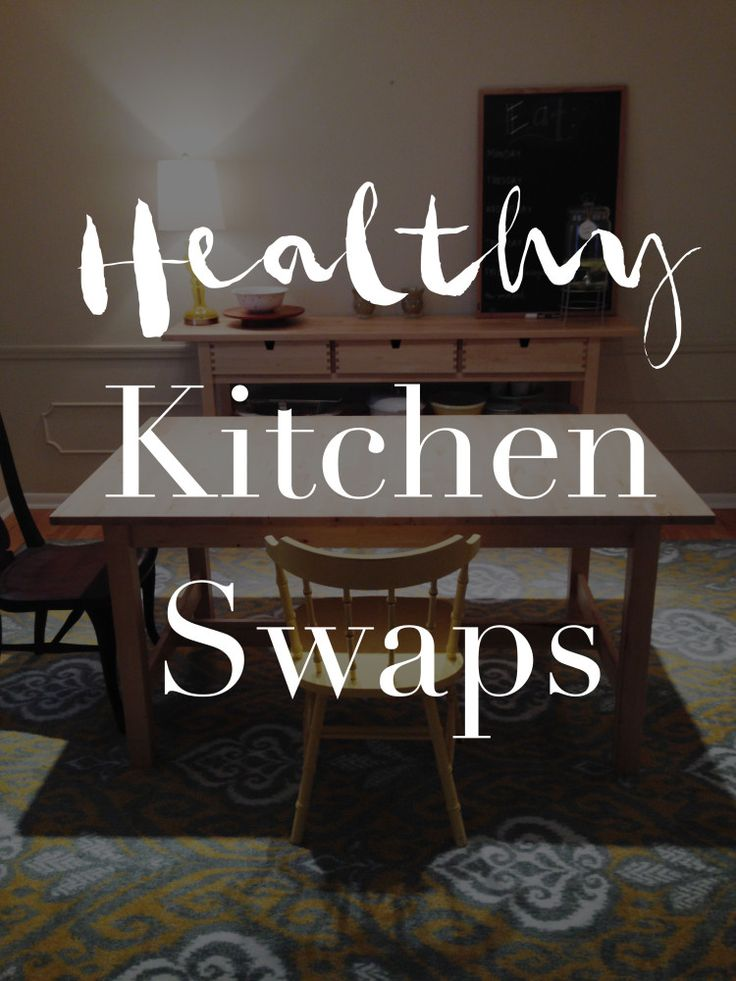 Healthy Kitchen Swaps