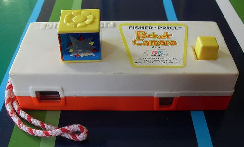 1970s Fisher Price Pocket Camera 1974 vintage toy 2 by Christian Montone, via Flickr