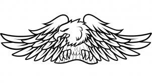 how to draw harley-davidson logo, harley-davidson