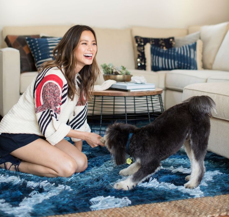 Jamie Chung's Living Room Makeover | Decorist Blog | see more at: https://www.decorist.com/blog/jamie-chungs-living-room-makeover/?utm_source=Iterable&utm_medium=email&utm_campaign=jamie-chung-living-room-makeover