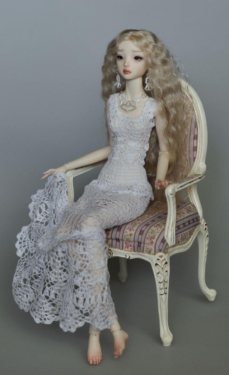 crochet doll dress
