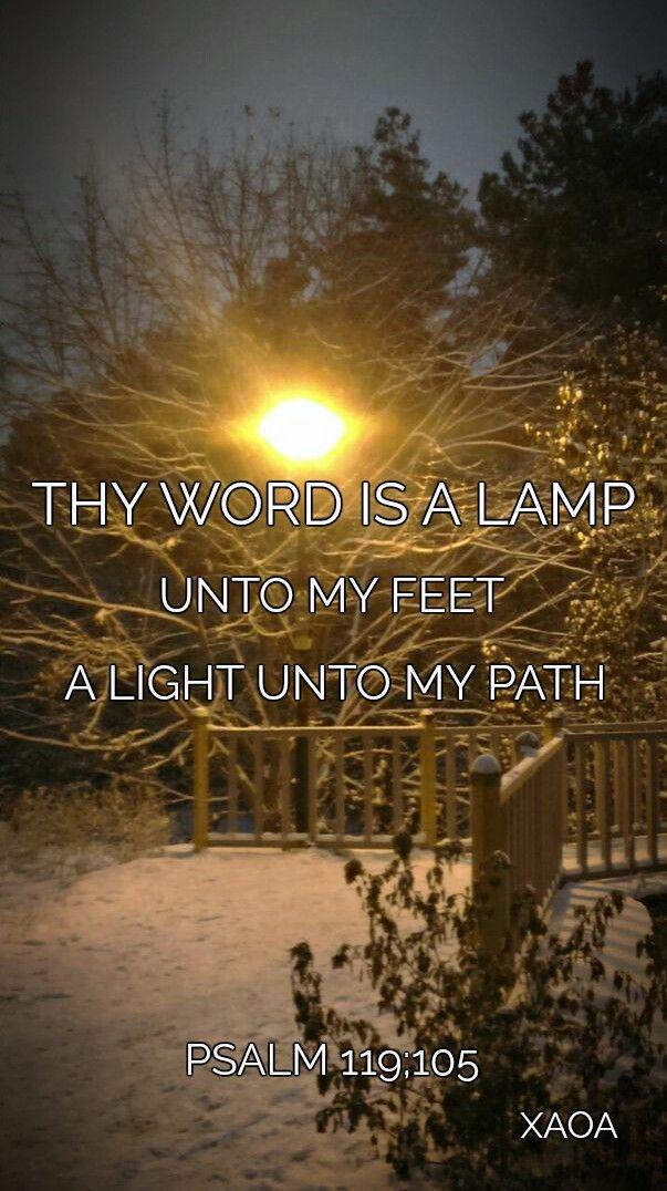 xaoa/'Thy word is a lamp'through good times, bad times,dark times,hard times.