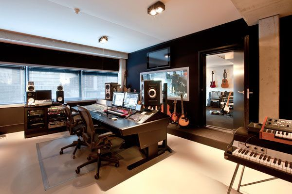 Warm Studio Music Studio Room Home Studio Music Recording Studio Home