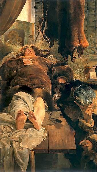 Elle death - Jacek Malczewski
