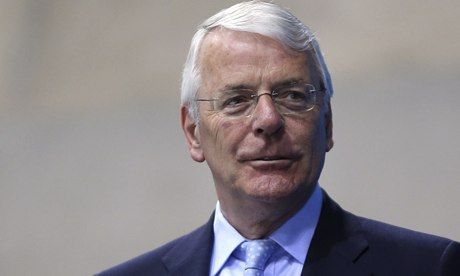 John Major 'shocked' at privately educated elite's hold on power