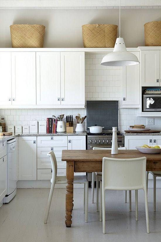 White kitchen design ideas at My Paradissi