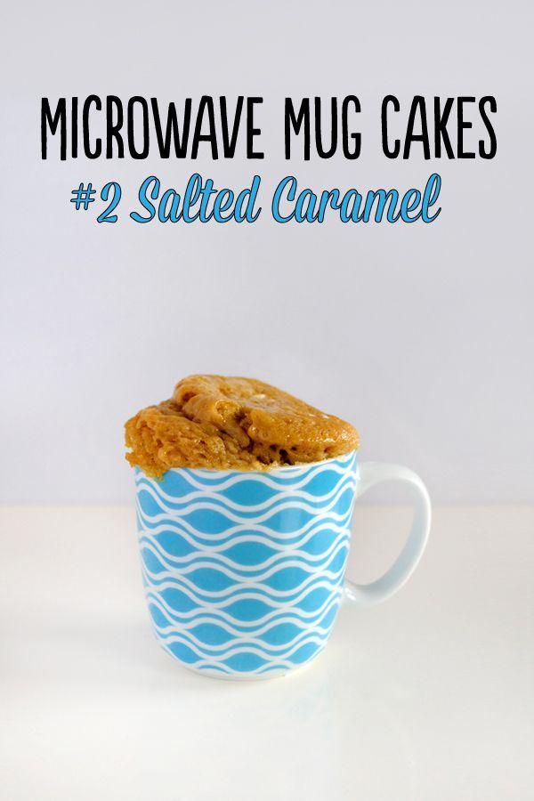 Microwave Mug Cakes – #2 Salted Caramel - Love Swah