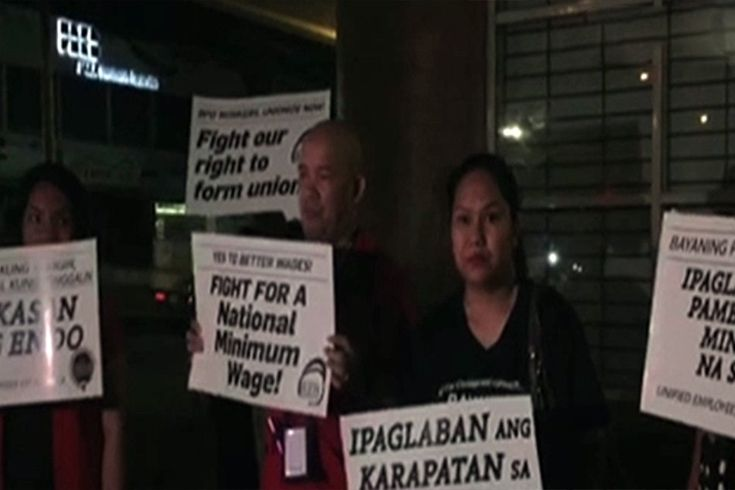 'Mga bayaning puyat': Mga empleyado ng BPO lumahok sa Labor Day protests http://news.abs-cbn.com/news/05/01/17/mga-bayaning-puyat-mga-empleyado-ng-bpo-lumahok-sa-labor-day-protests?utm_source=contentstudio.io&utm_medium=referral BackOfficeServices Philippines