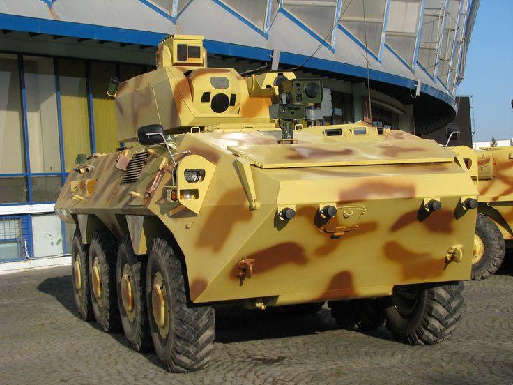 8x8 SAUR 2 Armoured Personnel Carrier | Romarm. No vamos a sacar un tablero para los rumanos, pero sirven este que tenmos como apendice al mismo