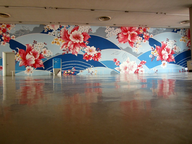 From the Beppu Contemporary Art Triennial 2012 - 'Mixed Bathing World'