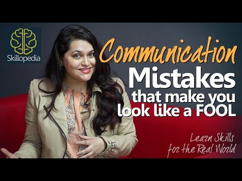 Improve Communication Skills – Don't look like a fool | Speak Confidently | Personality Development - http://LIFEWAYSVILLAGE.COM/personal-development/improve-communication-skills-dont-look-like-a-fool-speak-confidently-personality-development/
