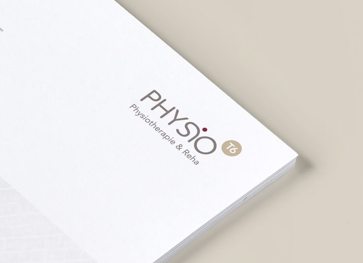 Logo and Corporate Design / Physio T6 Physiotherapy by Soapbox Design
