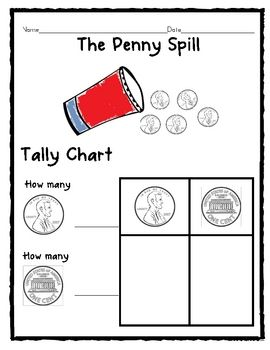Great for President's Day unit or general math tally lesson.