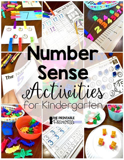 Number Sense for Kindergarten | Kindergarten Classroom ...