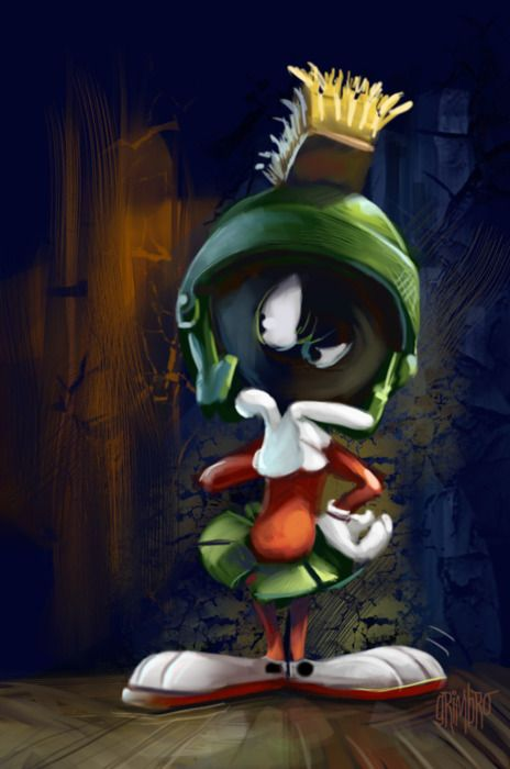 Marvin the Martian thinking if you are worthy to be alive on Earth!  ...follow Marvin at http://marvin-martian.weebly.com  #thinking