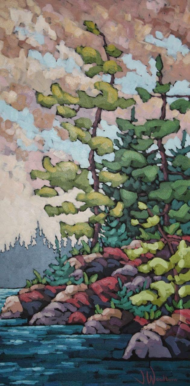 1363 best ART landscapes images on Pinterest | Painting ...