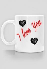 I LOVE YOU-  kubek