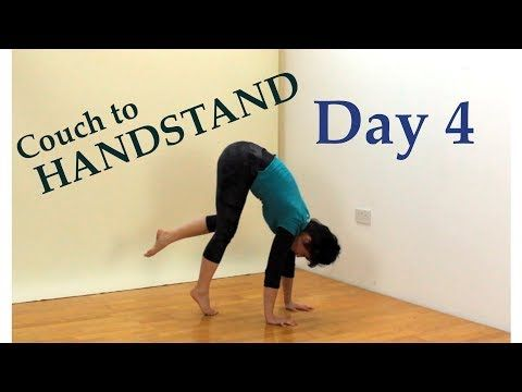 couch to handstand 30 day challenge  youtube in 2020