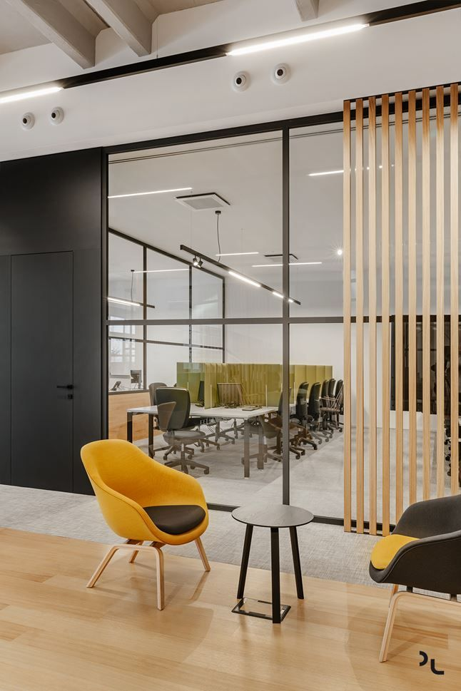 Ondatel Picture Gallery Modern Office Interiors Open Concept