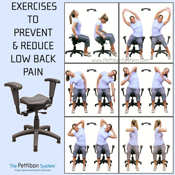 Amazing Stretches For Back Pain Relief The Wobble Chair