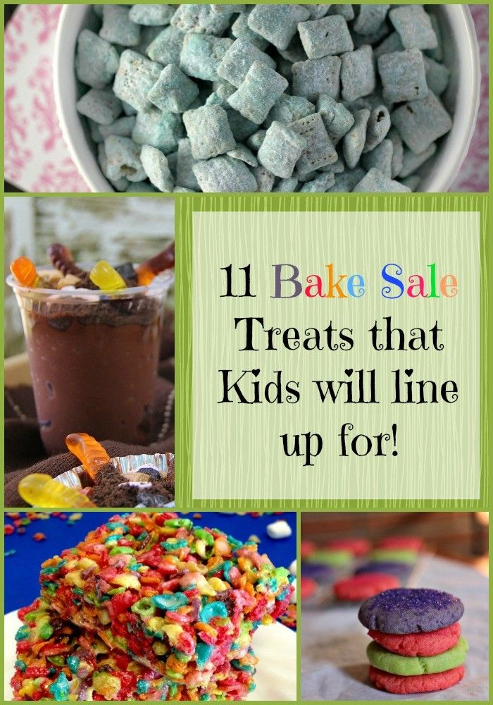 Bake Sale Treats the Kids will line up for! - Mom vs the Boys