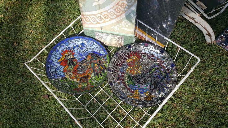 Mosiac plates