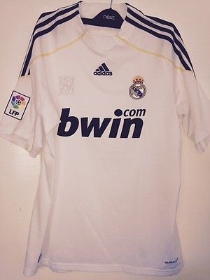 Genuine adidas #official real #madrid football shirt~2009/2010 size #medium ,  View more on the LINK: http://www.zeppy.io/product/gb/2/182175755126/