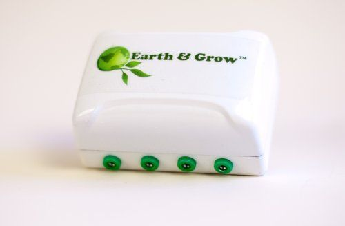 Earth & Grow Starter Kit by Earth & Grow. $99.95. Safe and easy to use. Plugs in 6 plants. 100% green technology that will not increase your electric bill. Maximize growth, health and production. The world's first available growing system that uses natural electricity to enhance plant growth. Plants have evolved in the ground, outside in nature. Potted plants in your home, office and greenhouse are missing the connection to their vital energy source, the Earth.  ...