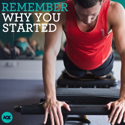 Remember why you started.  #keepgoing #inspiration #kxpilates #kxgroup #fitspo #motivation #workout #weights #pilates #fitness