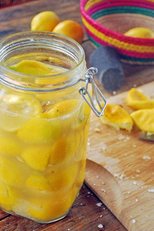 Limones confitados | Sabores de mi Huerto