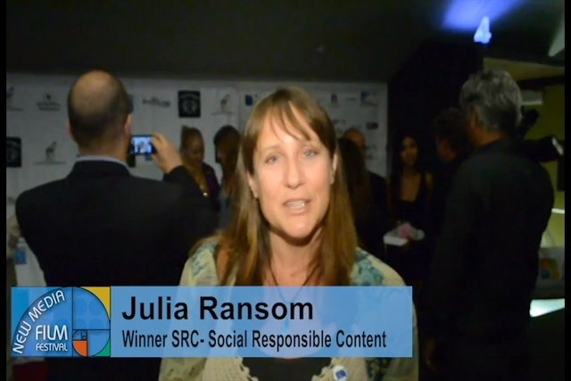 Saving Valentina and The Whale Conservancy win SRC Award at New Media Film Festival