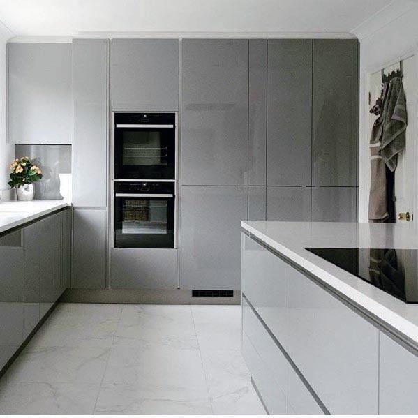 Top 50 Best Grey Kitchen Ideas Refined Interior Designs Modern