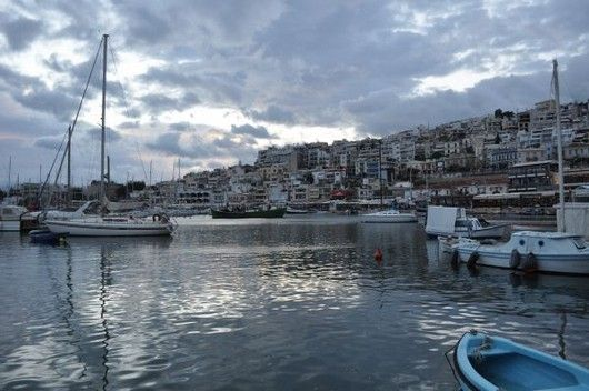 """Mikrolimano Athens (by Marilena Salamanou )(a part of Piraeus)! Mikrolimano is such a scenic neighborhood with its small port and a hill overlooking it.  One of its advantages is that you can visit this neighborhood easily, by using the green line until Faliro. And then it is only 10 minutes on foot. In case you are hungry my favorite restaurants are: """"Ammos"""" for fish and """"Vosporos"""" for meat."""