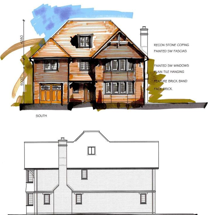 Images from our new property development in Surrey.